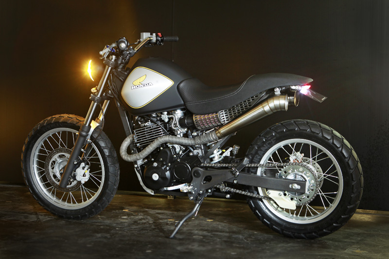 Honda Fx650 By Sebastiao Guerra Is So Much Win Autoevolution