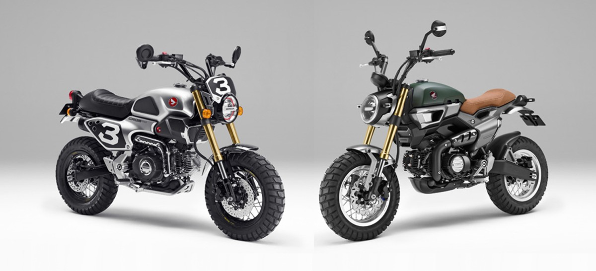 Honda Grom 50 Scrambler Concepts to Be Revealed at Tokyo ...