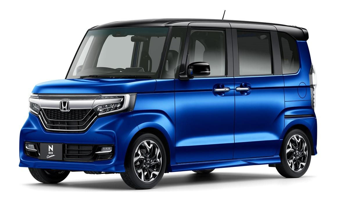 2018 honda n box is an unapologetically boxy kei car for 2018 honda cars