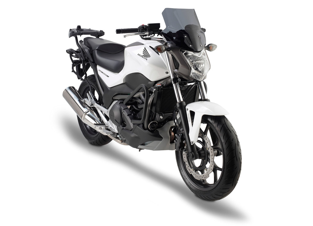 Honda Nc700s Receives Givi Touring Accessories Autoevolution
