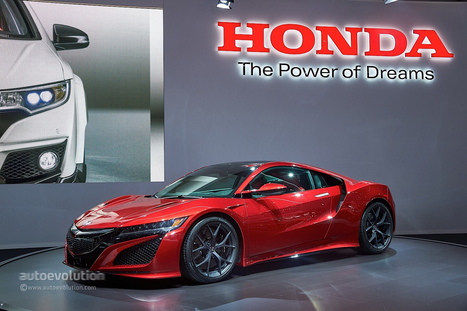 Honda NSX Reborn as a Hybrid Supercar at Geneva 2015 - Video, Live ...