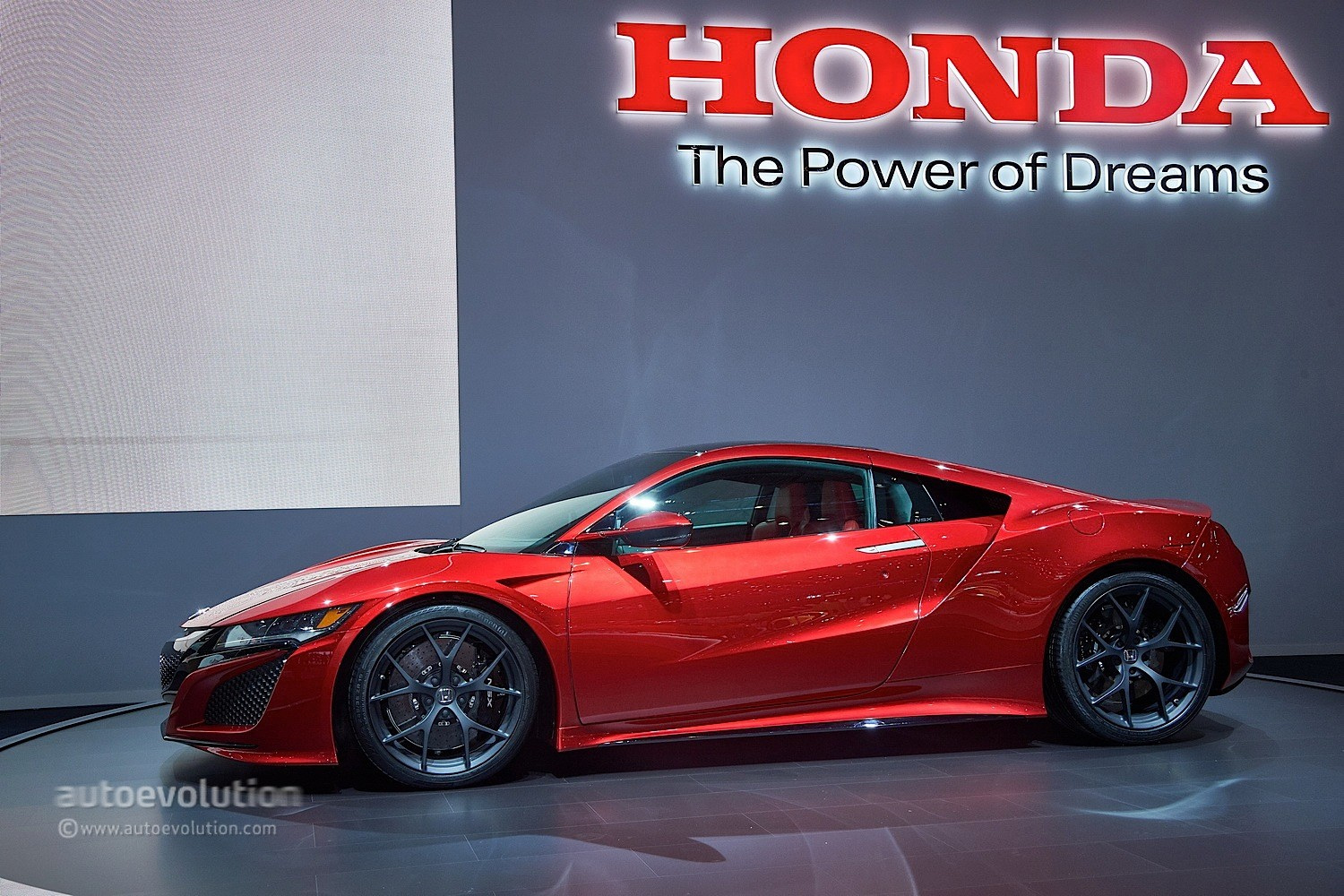honda nsx reborn as a hybrid supercar at geneva 2015 video live photos autoevolution. Black Bedroom Furniture Sets. Home Design Ideas