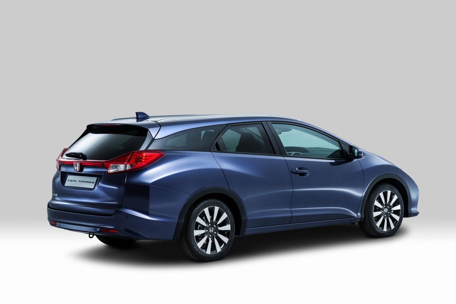 Honda Accord Evolution >> Honda Presents New Civic Tourer Ahead of Frankfurt Debut - autoevolution