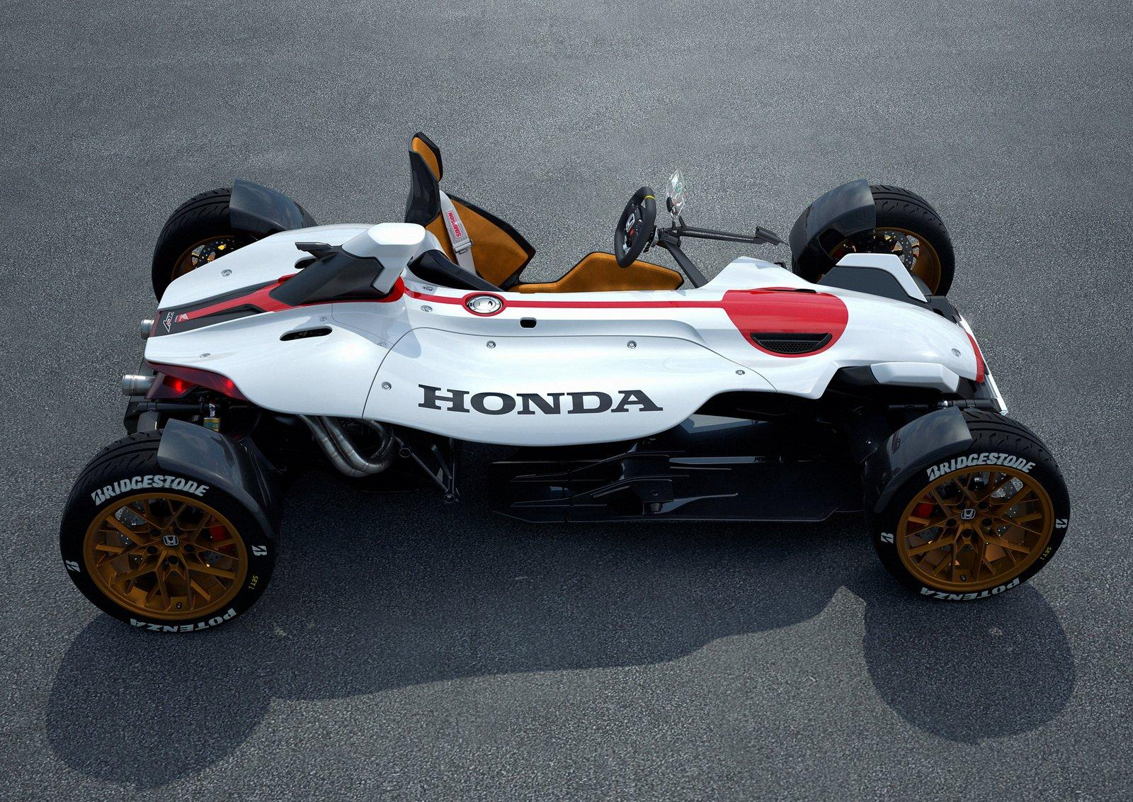 Honda Project Is A Motorcycle Under Car Clothing Comes To Frankfurt
