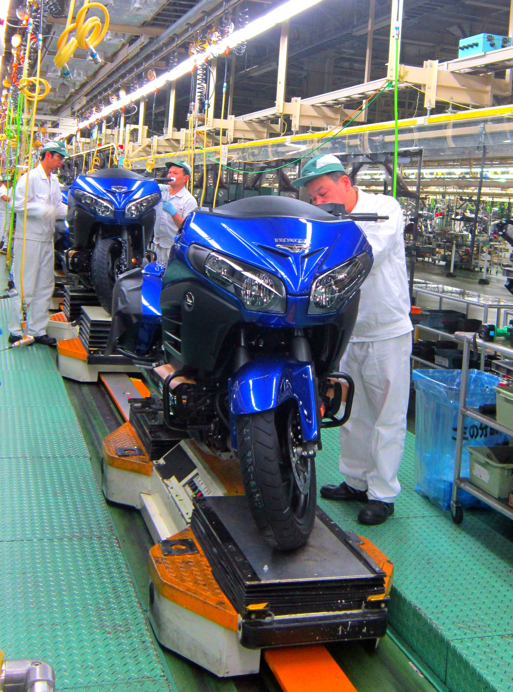 Honda Reaches 300 Million Motorcycles Milestone With Gold