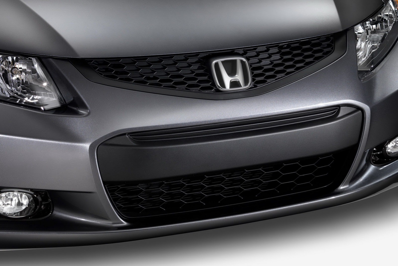 Honda Refreshes Civic For With New Grille And Added Kit Photo Gallery
