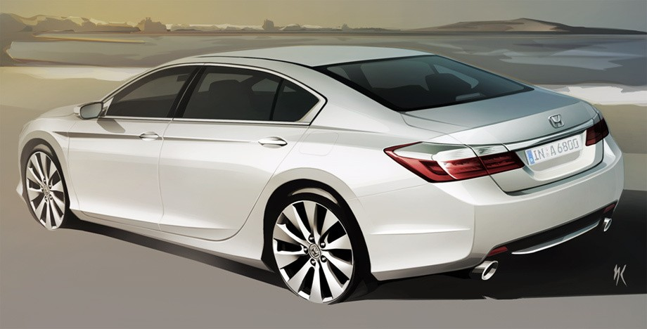 Honda releases european and russian accord sketches autoevolution