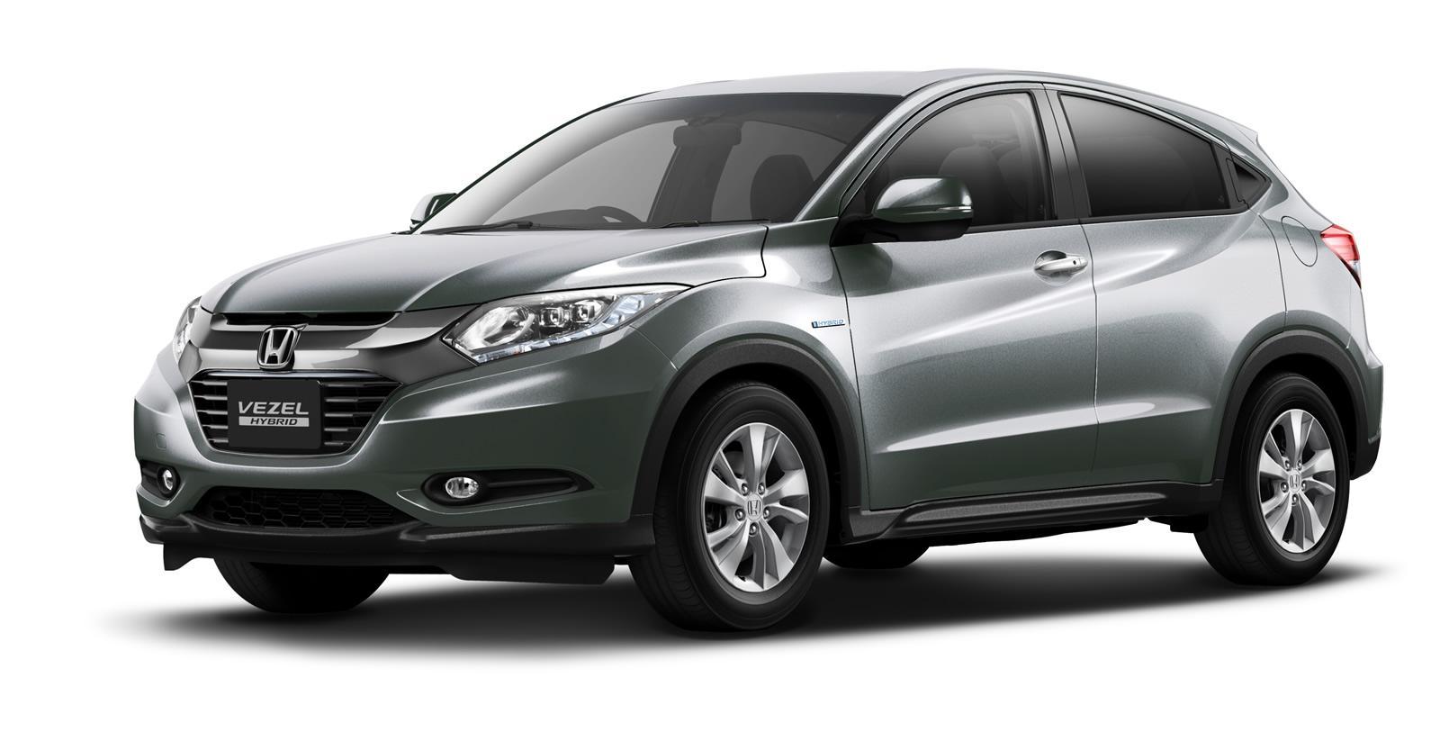 Honda Reveals Honda Vezel Urban Crossover SUV in Tokyo ...