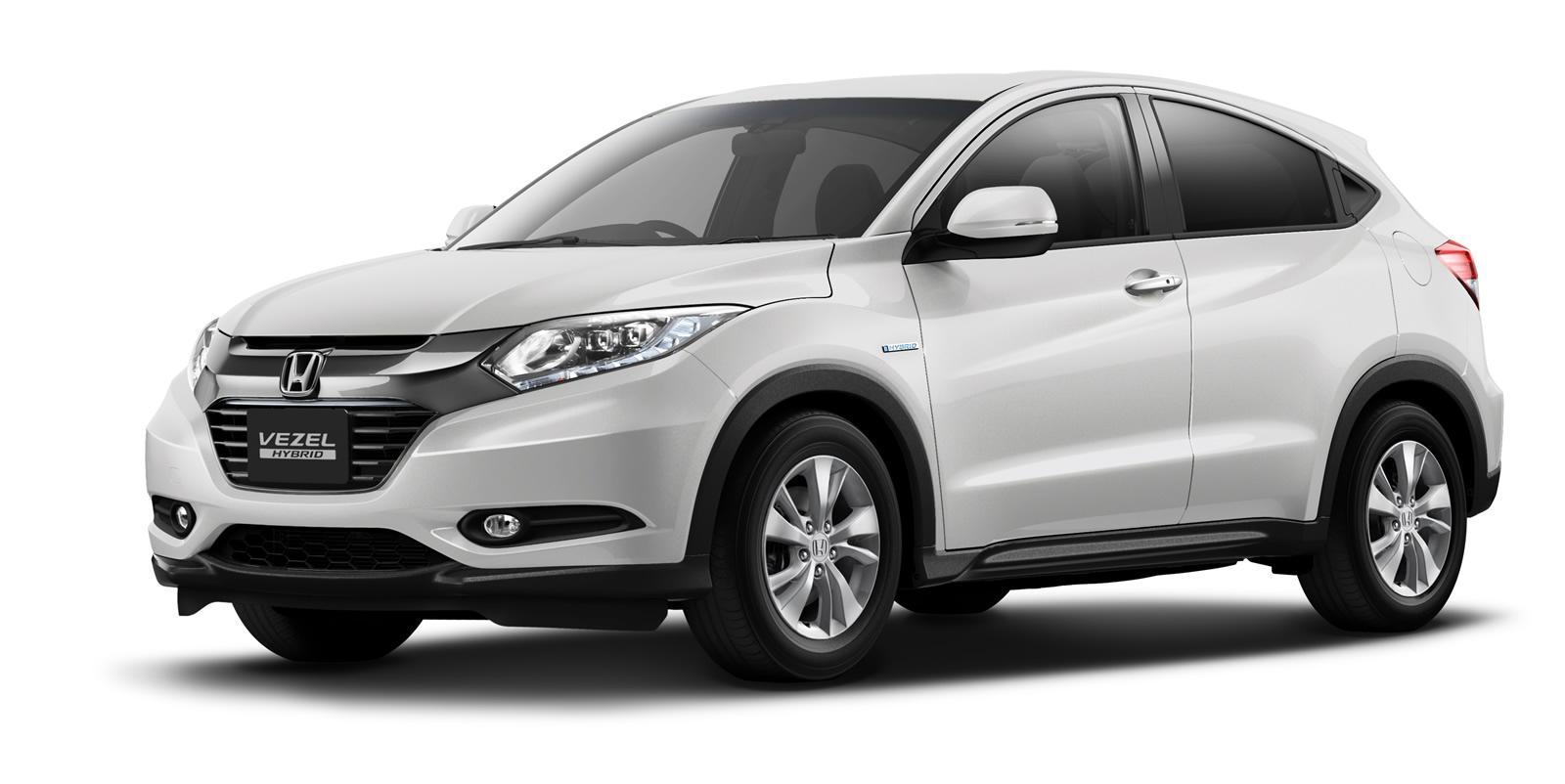 Honda Reveals Honda Vezel Urban Crossover Suv In Tokyo