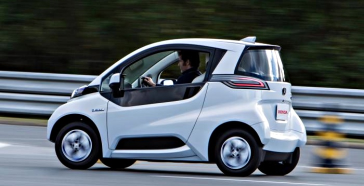 Honda Reveals Its Own Twizy The Micro Commuter Prototype