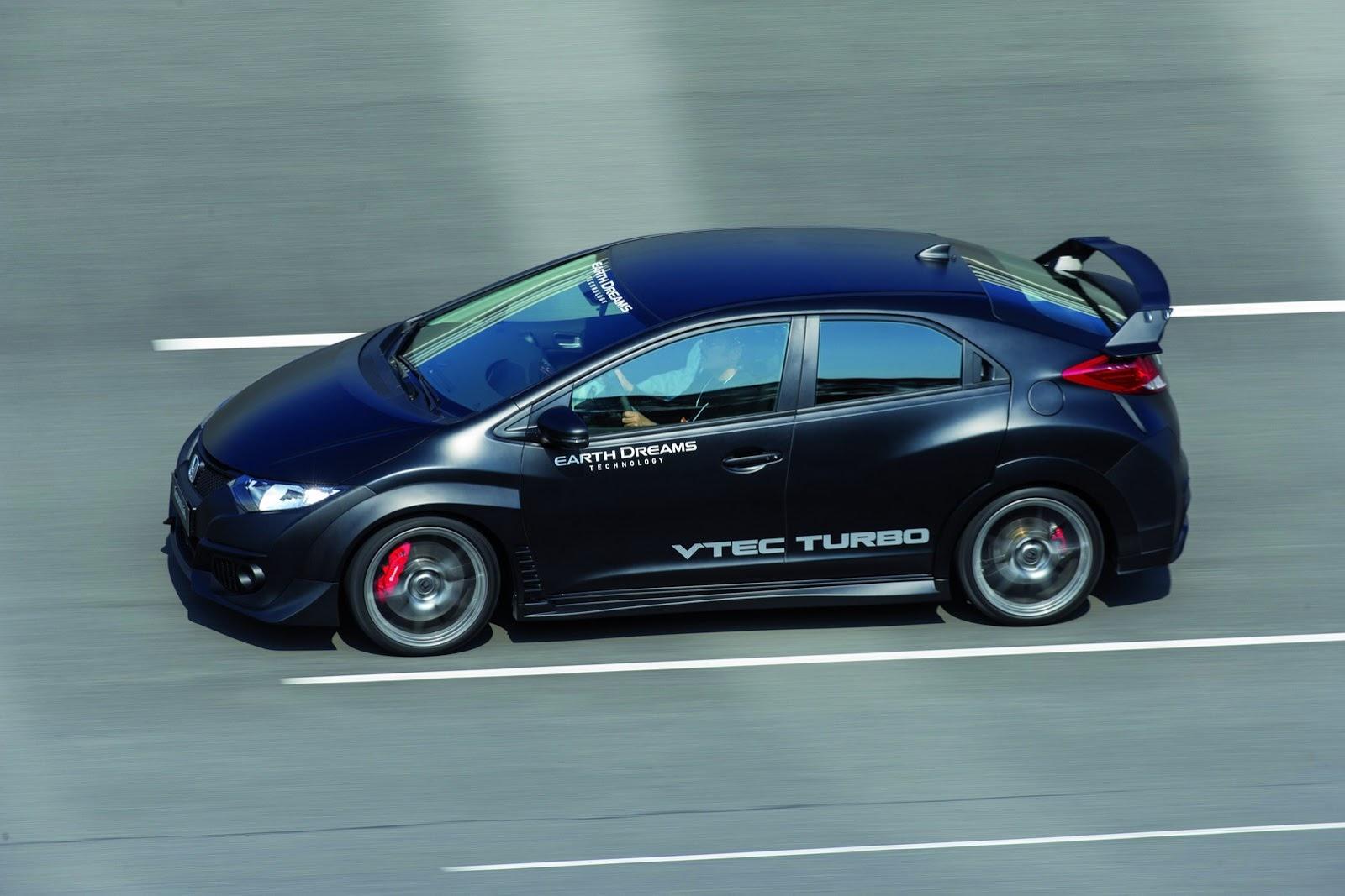 Honda Reveals New Civic Type R With VTEC TURBO Engine [Video ...