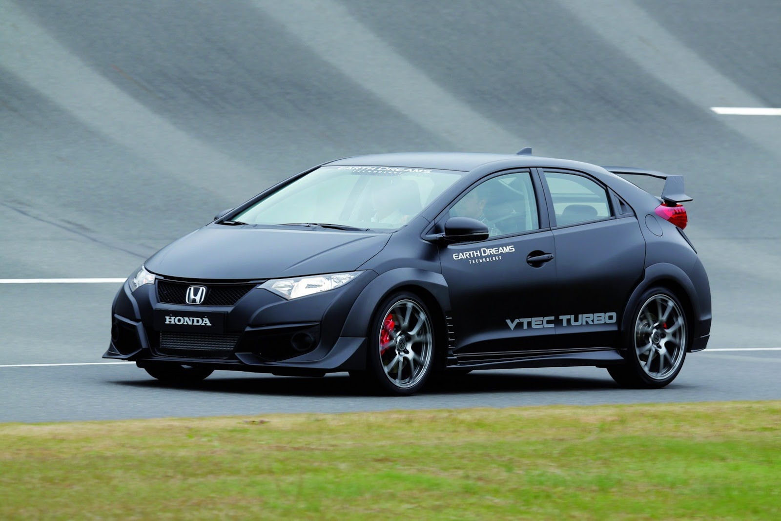 honda reveals new civic type r with vtec turbo engine. Black Bedroom Furniture Sets. Home Design Ideas