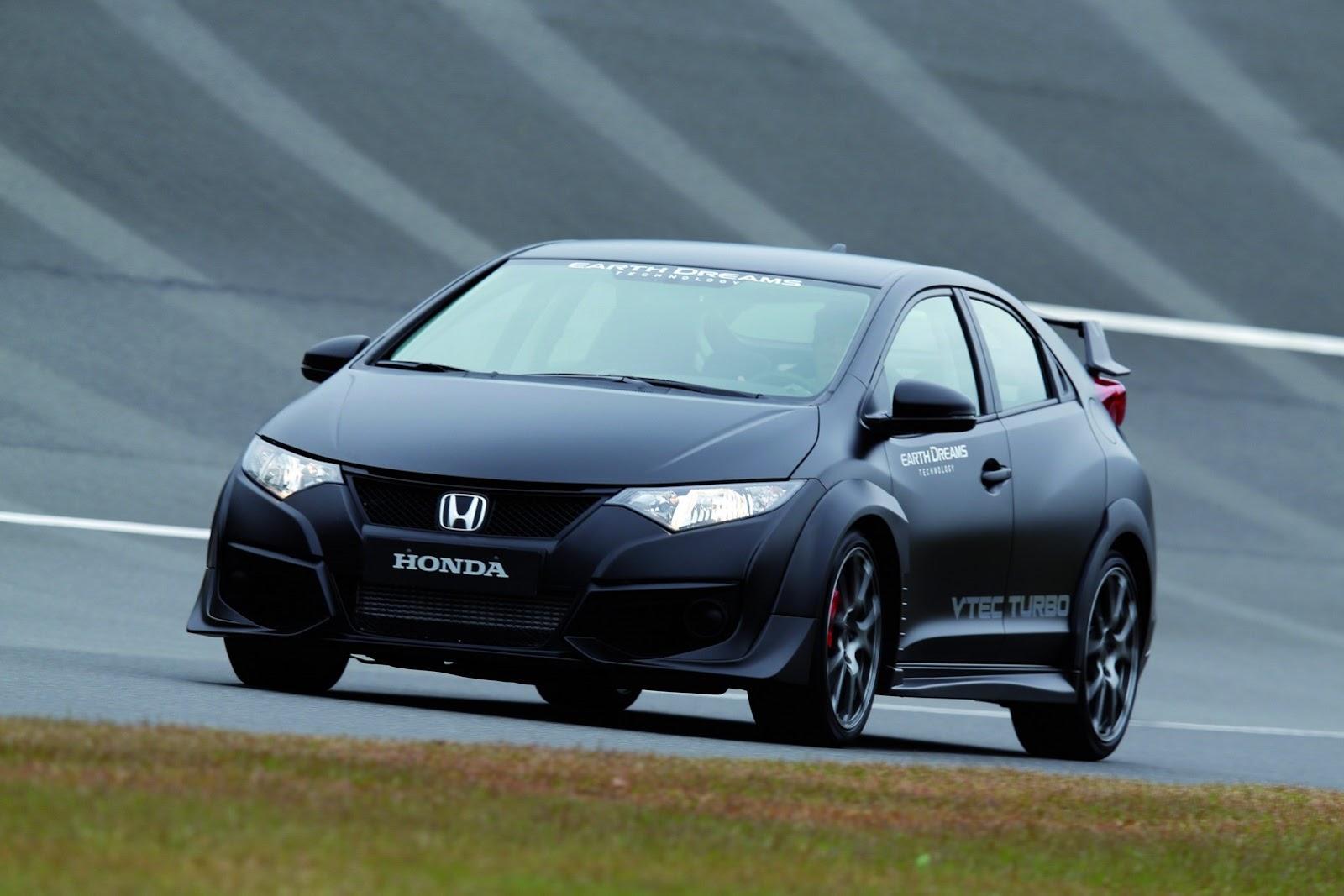 Honda Reveals New Civic Type R With VTEC TURBO Engine