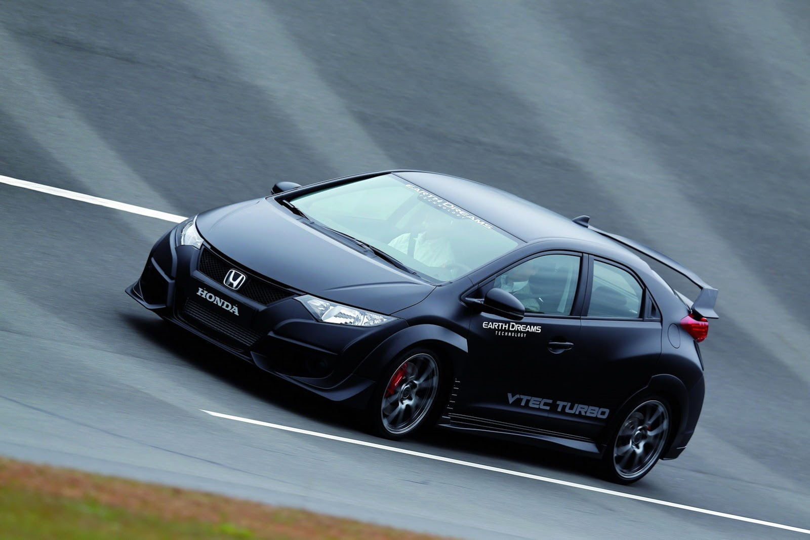 honda reveals new civic type r with vtec turbo engine video autoevolution. Black Bedroom Furniture Sets. Home Design Ideas
