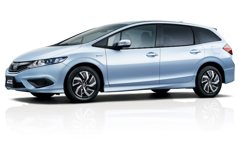 Honda Reveals New Jade Hybrid 6 Seater In An