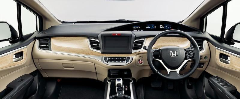 Honda Reveals New Jade Hybrid 6 Seater In Japan