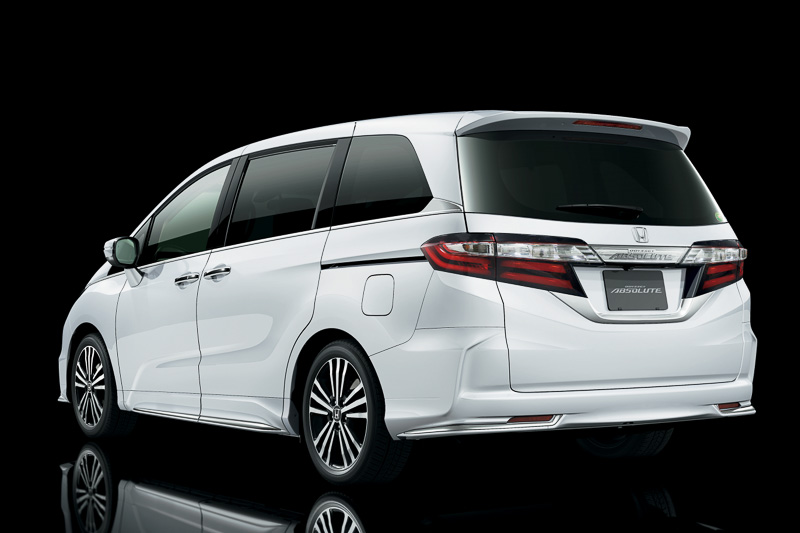 honda reveals new odyssey and odyssey absolute in japan. Black Bedroom Furniture Sets. Home Design Ideas