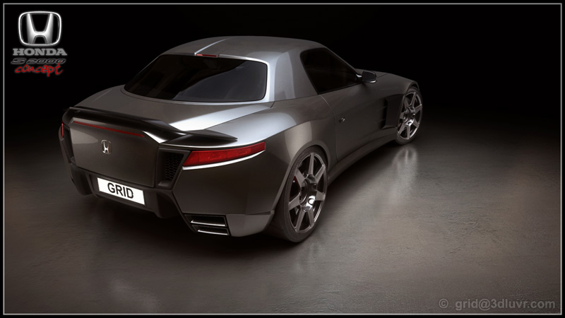 Honda S2000 Coupe Concept Study - autoevolution