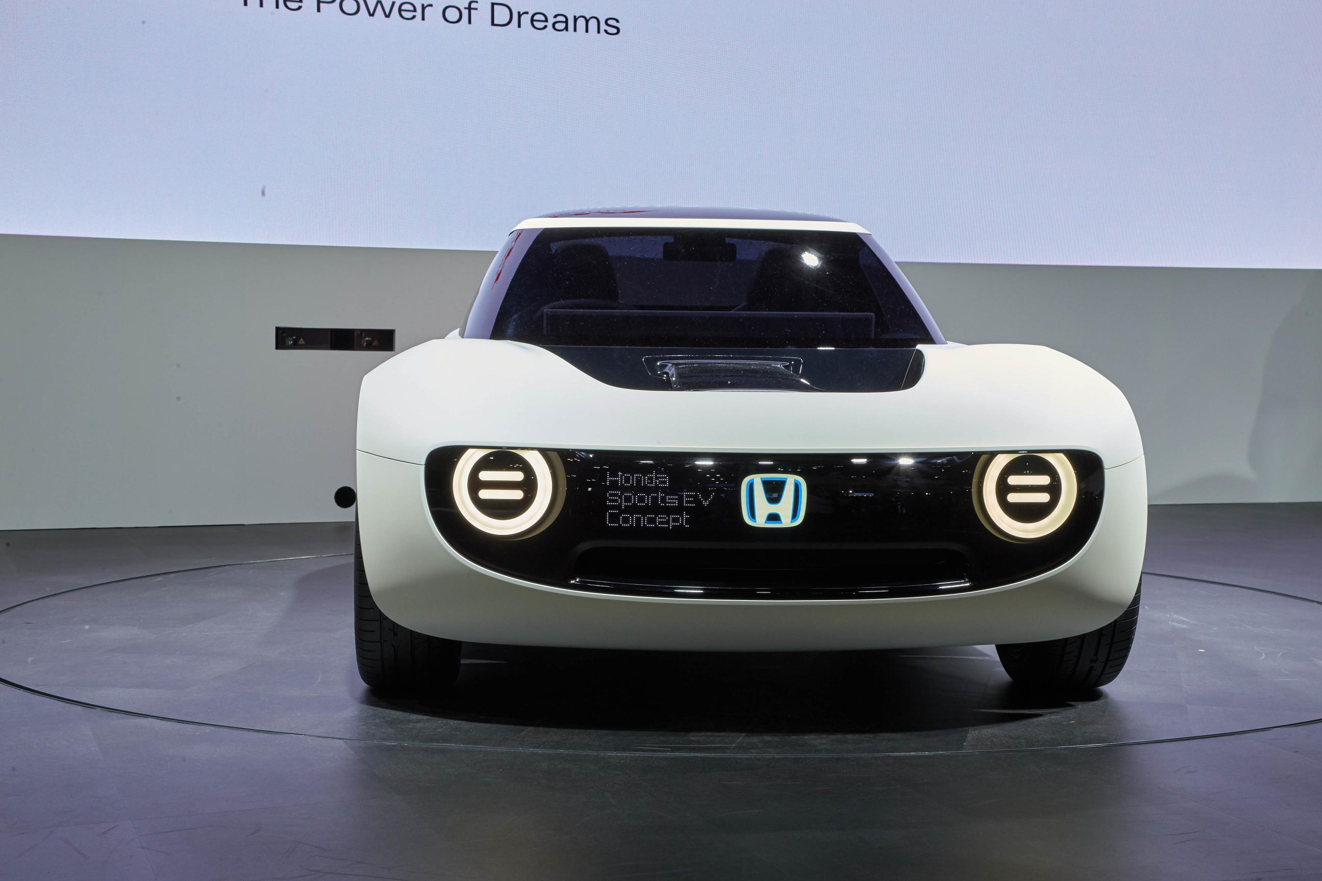 High Quality ... Honda Sports EV And Urban EV Concepts Reveal Future Retro Japanese  Design ...