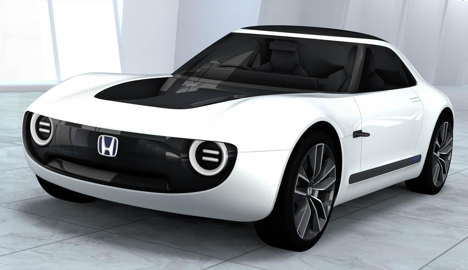 ... Honda Sports EV Concept ...