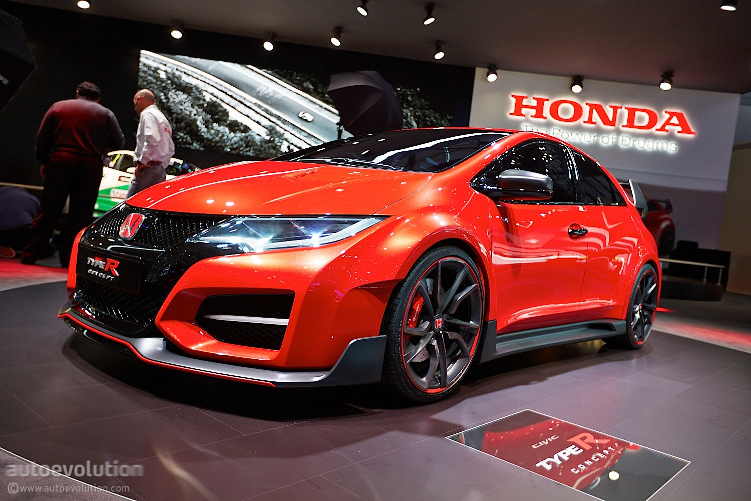 honda summons devilish new civic type r for the road track video live photos autoevolution. Black Bedroom Furniture Sets. Home Design Ideas
