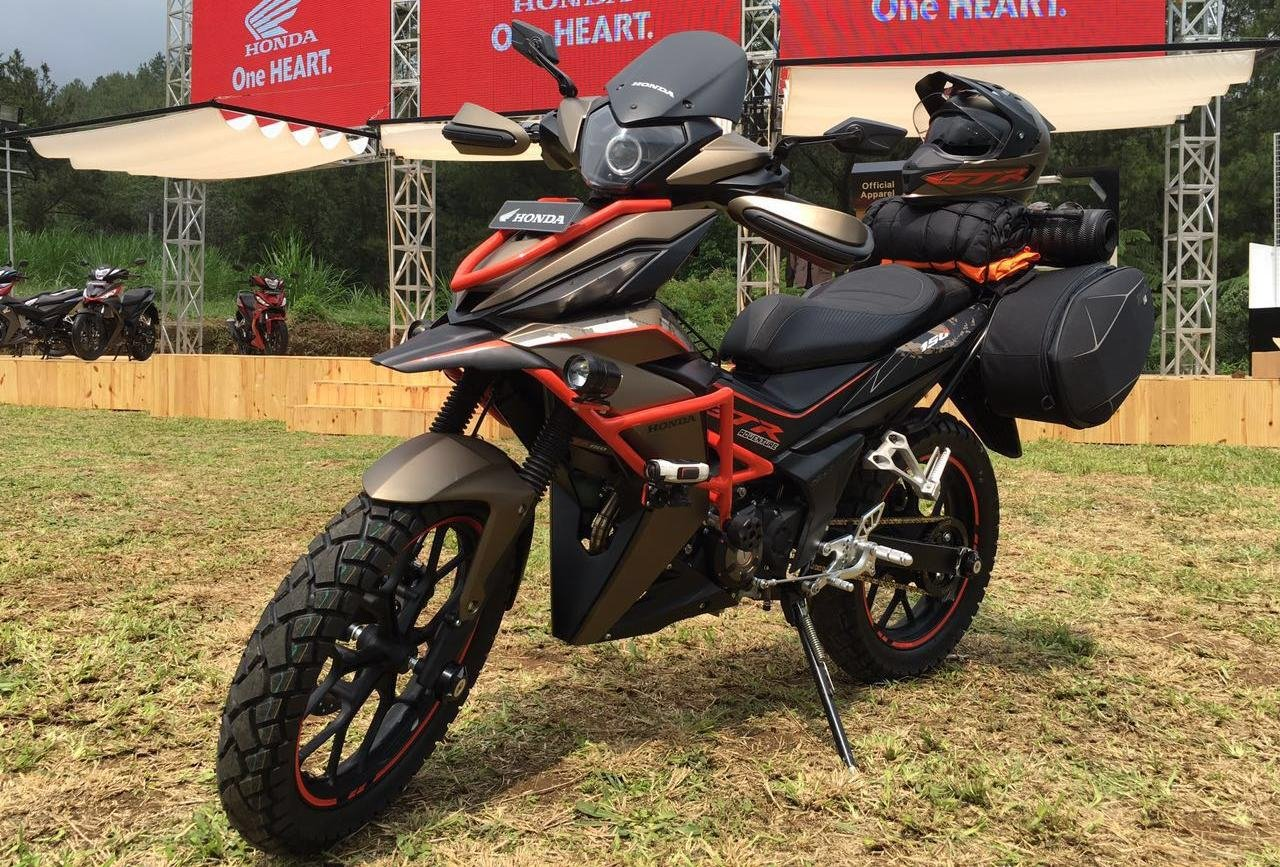 Honda supra gtr 150 adventure is a real off road scooter autoevolution