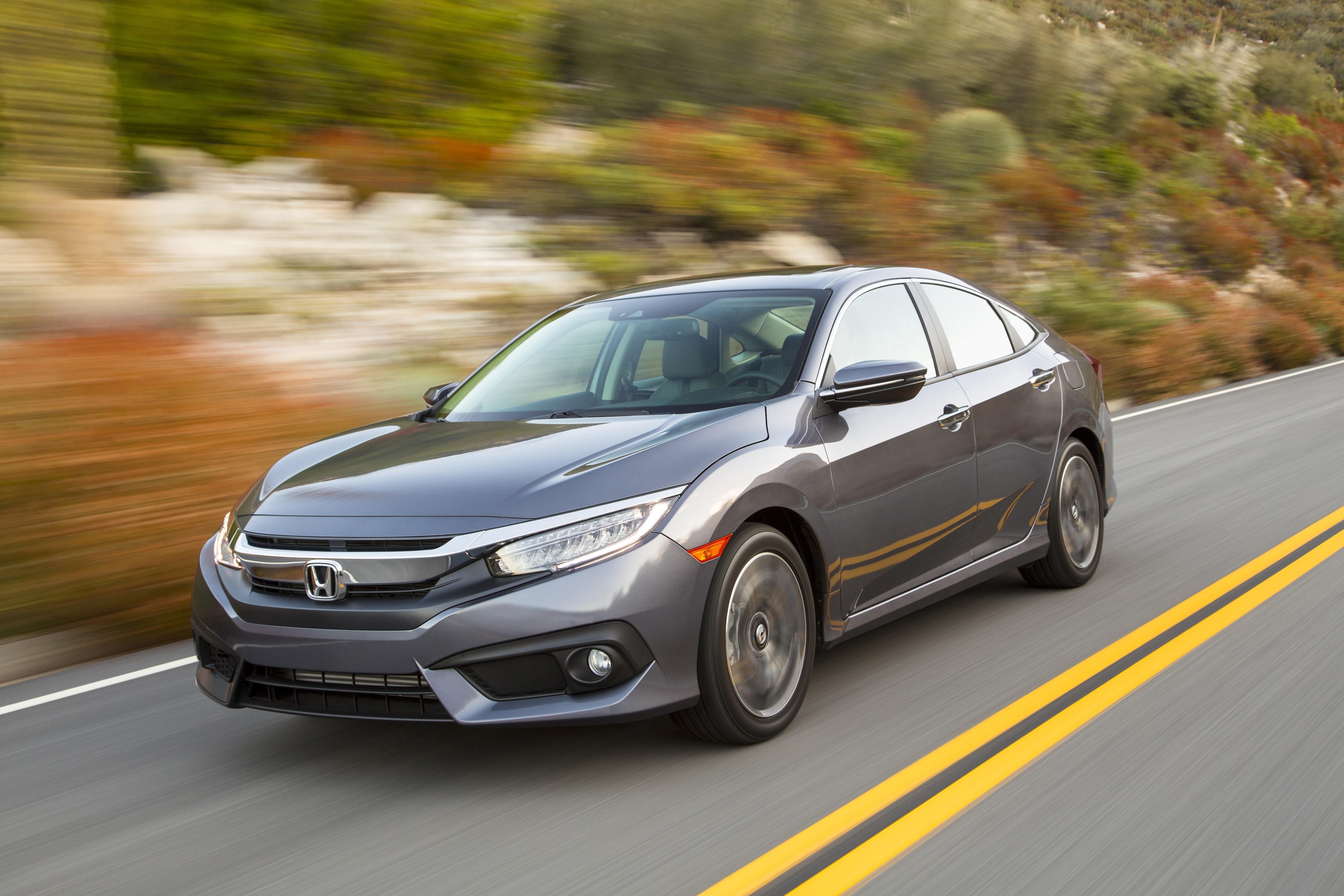 US Market 2016 Honda Civic Sedan