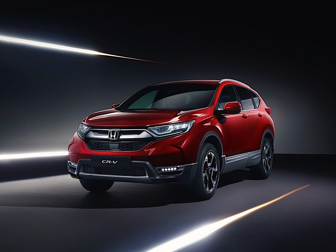 Honda to unveil euro spec cr v at the 2018 geneva motor - Geneva motor show ...
