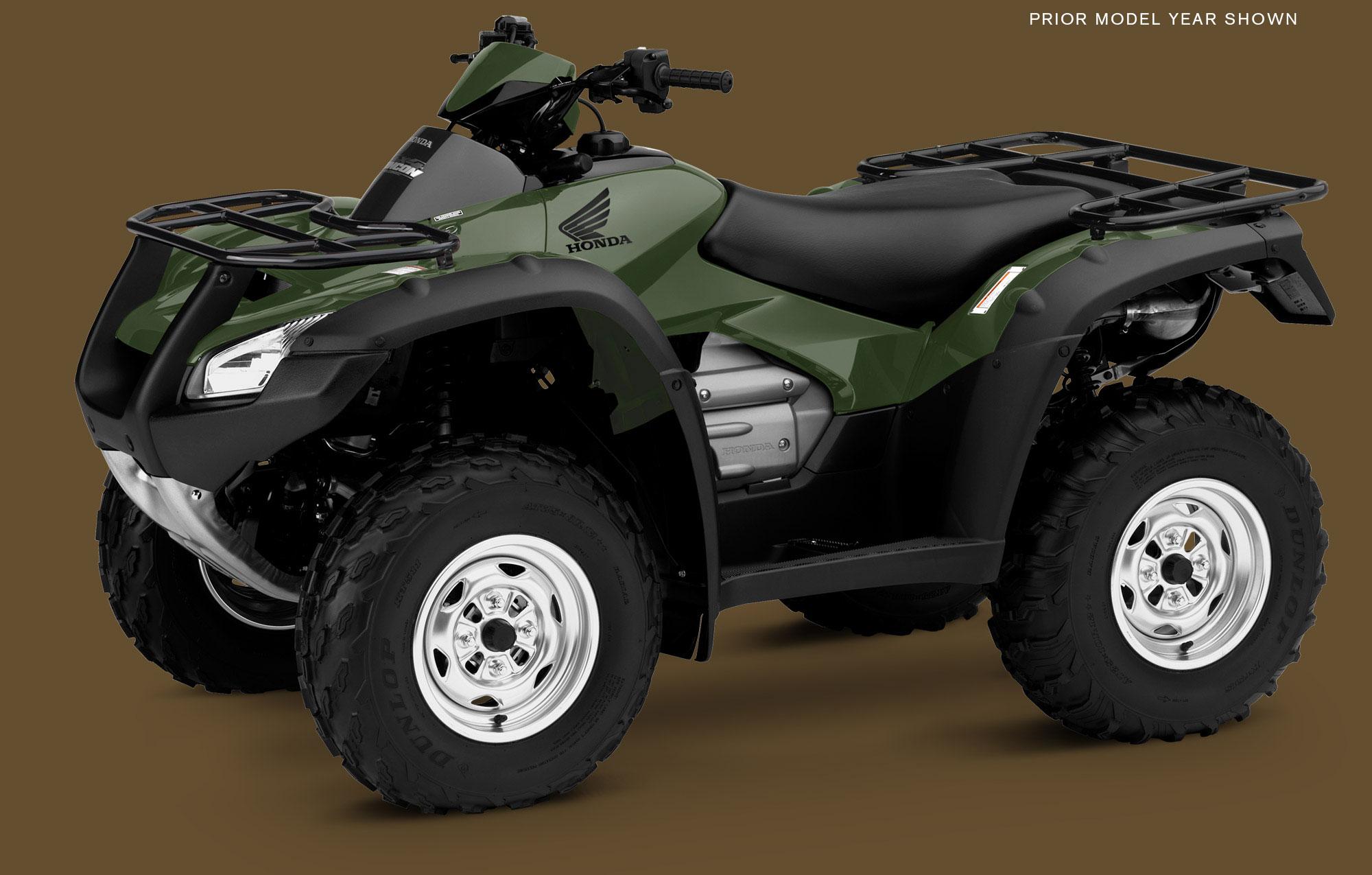 Honda Unveils 2015 Four Trax Rincon Top Drawer ATV
