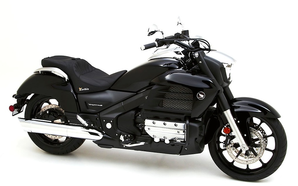 Honda Valkyrie Receives Corbin Seats And Fleetliner