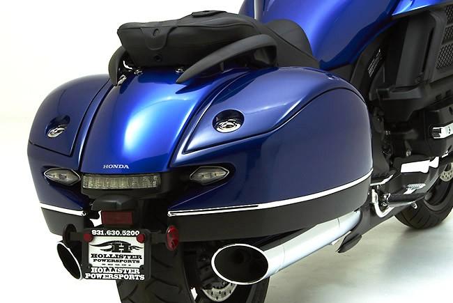 honda valkyrie saddlebags corbin f6c fleetliner seats receives autoevolution