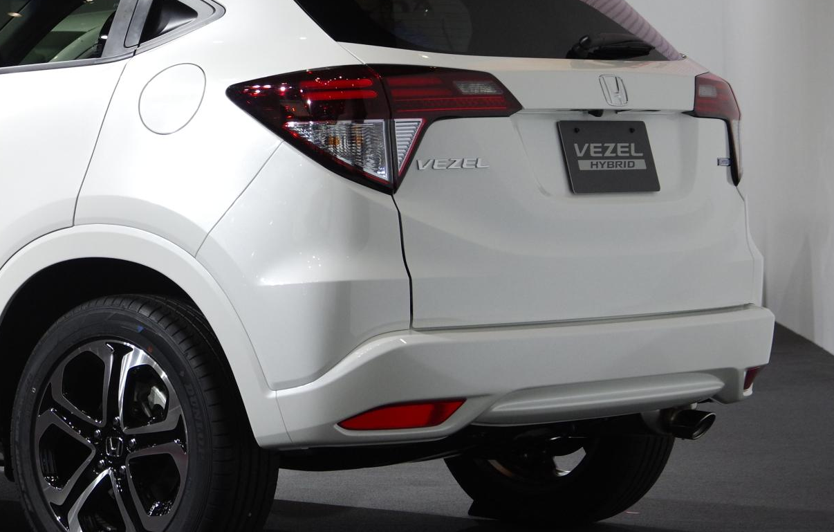 Honda Vezel Revealed In Japan Is Coming To The Us Live Photos Autoevolution