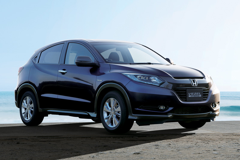 honda vezel urban suv debuts in japan autoevolution. Black Bedroom Furniture Sets. Home Design Ideas