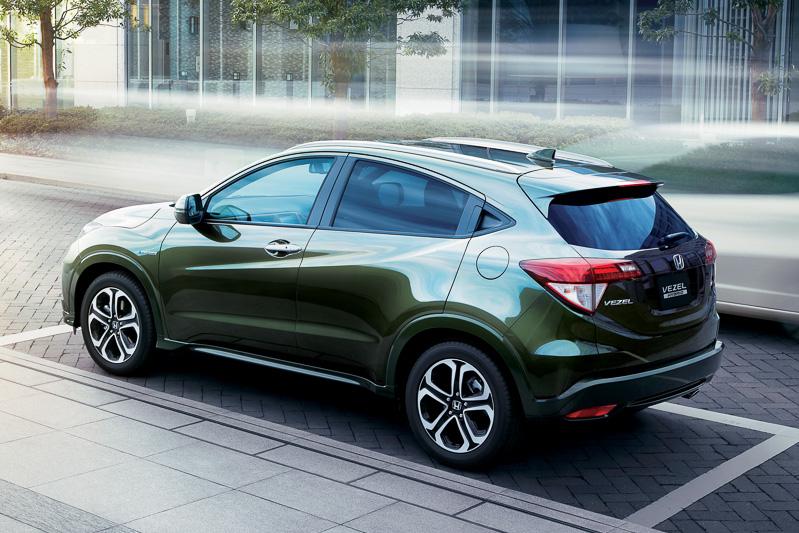 Honda Vezel Urban Suv Debuts In Japan Autoevolution