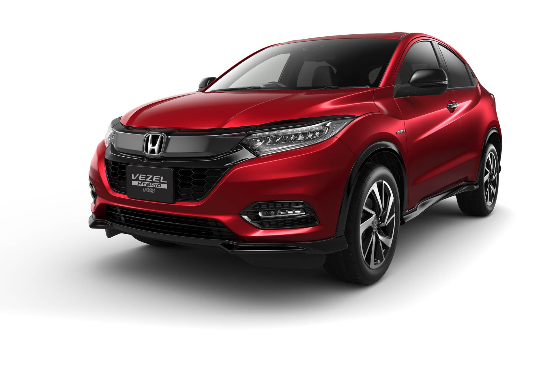 2019 honda hr v facelift launched in japan as new vezel autoevolution. Black Bedroom Furniture Sets. Home Design Ideas