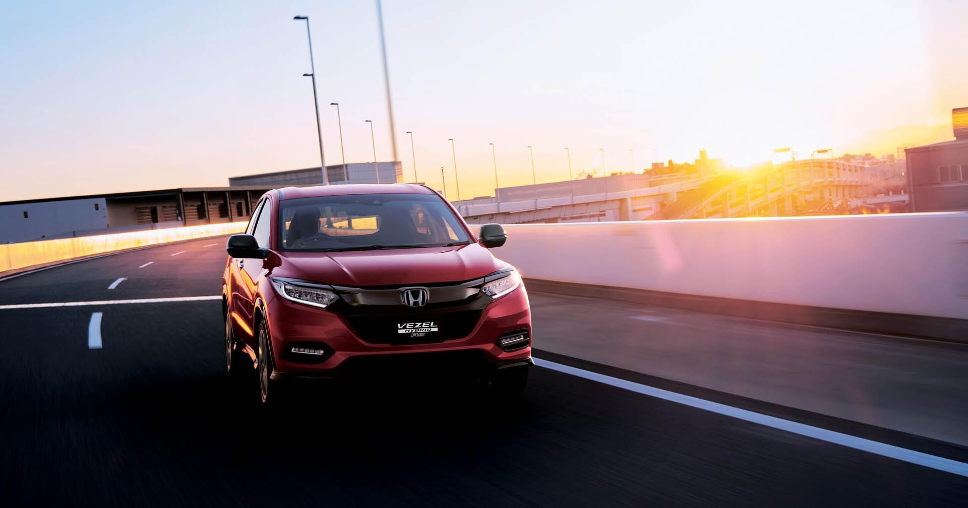 2019 Honda Hr V Facelift Launched In Japan As New Vezel