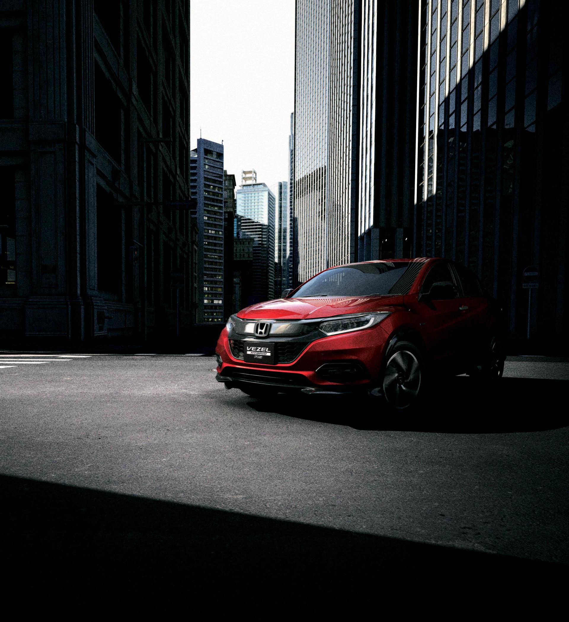 2019 Honda HR-V Facelift Launched In Japan As New Vezel