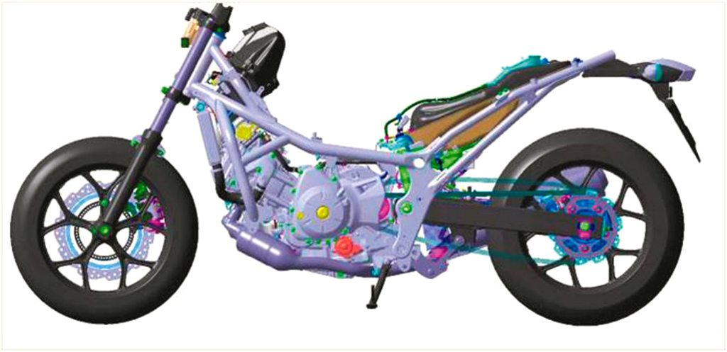 Honda Works on 3-Wheel Leaning Scooter Based on the NC750