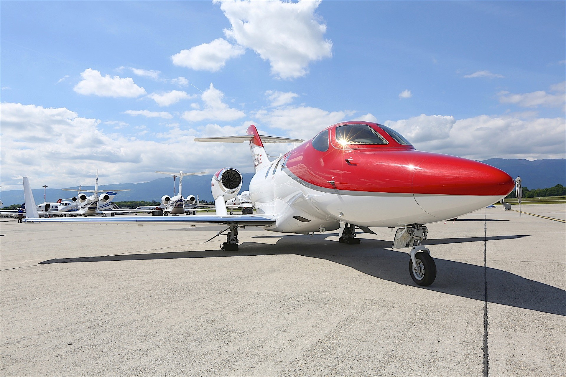 Hondajet plane receives european certification deliveries for Honda private jet
