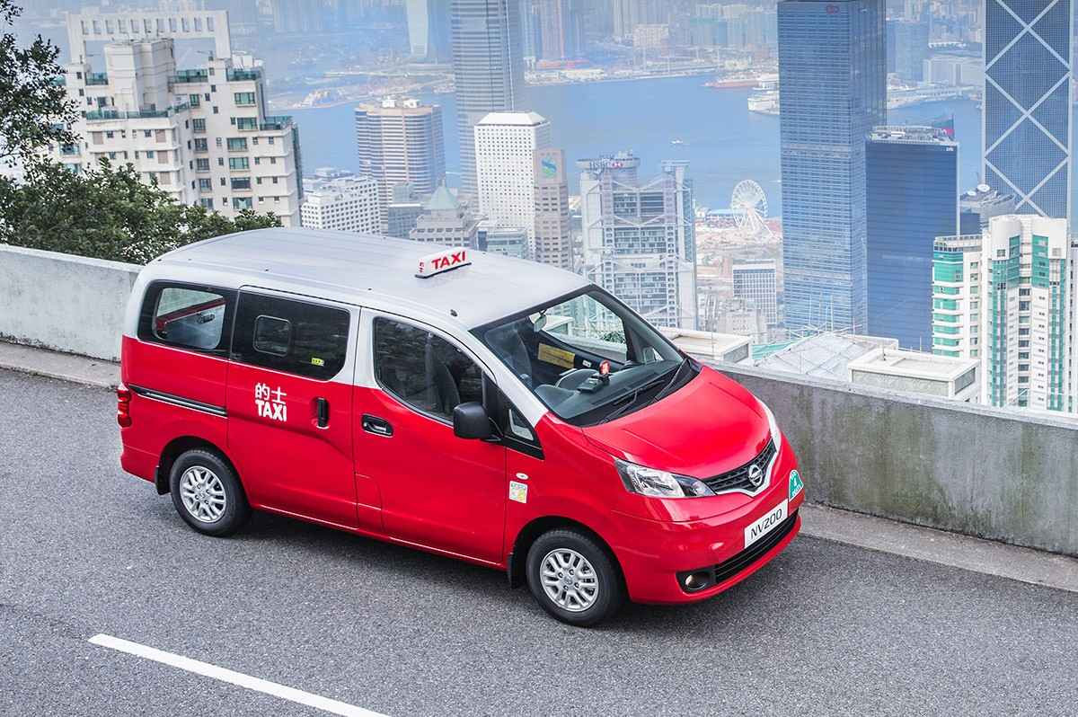 Hong Kong Taxi Services to Adopt the LPG-fed Nissan NV200 Mobility ...