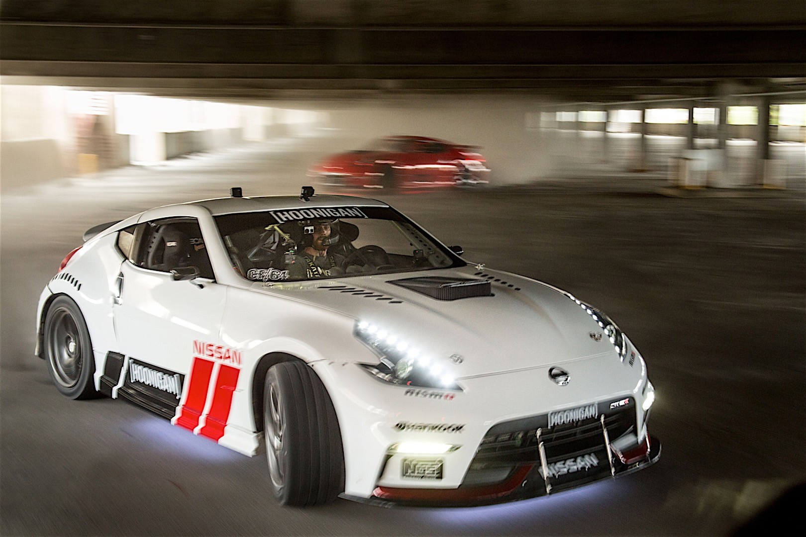 Nissan And Hoonigan S Black Friday Has Two 1000 Hp Cars And An Abandon...