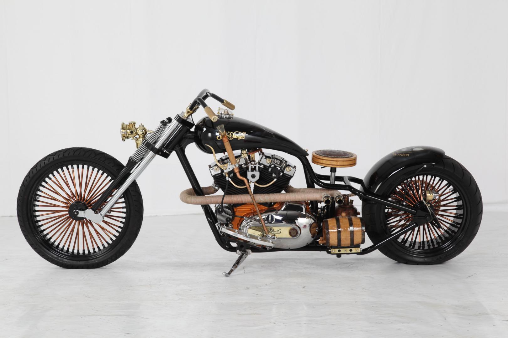 Hoosier Harley Davidson Motorcycle
