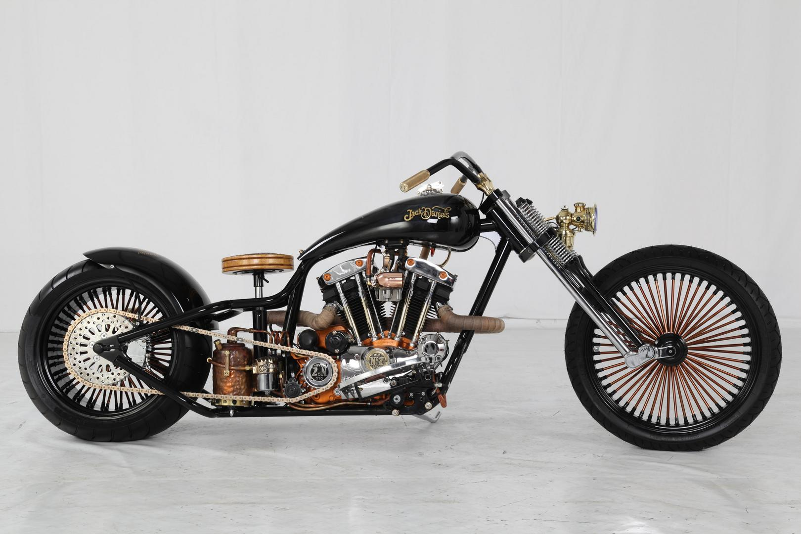 Hoosier Daddy Choppers Jack Daniel S Custom Harley