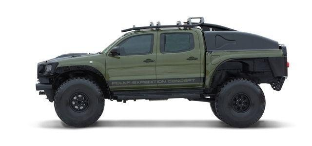 Hot 2010 Toyota Tacoma Polar Expedition Concept Is For Sale Autoevolution