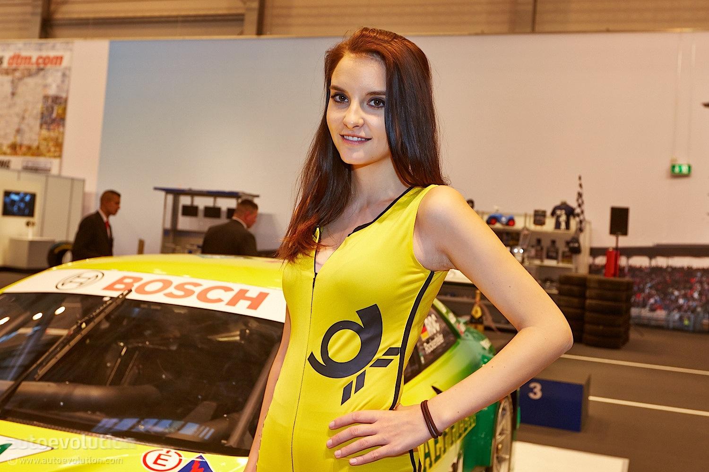 Hot Girls at Essen Motor Show 2013