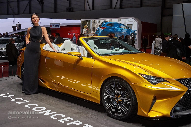 Hot Girls At The Geneva Motor Show 2015 Autoevolution