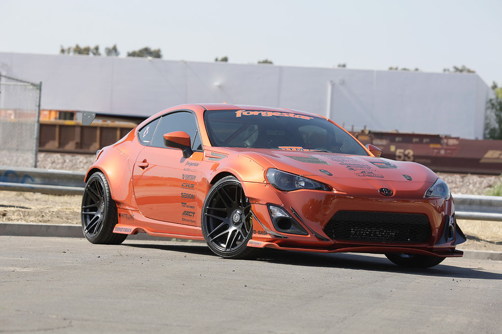 Hot Lava Rocket Bunny Scion FR-S Is For Sale - autoevolution