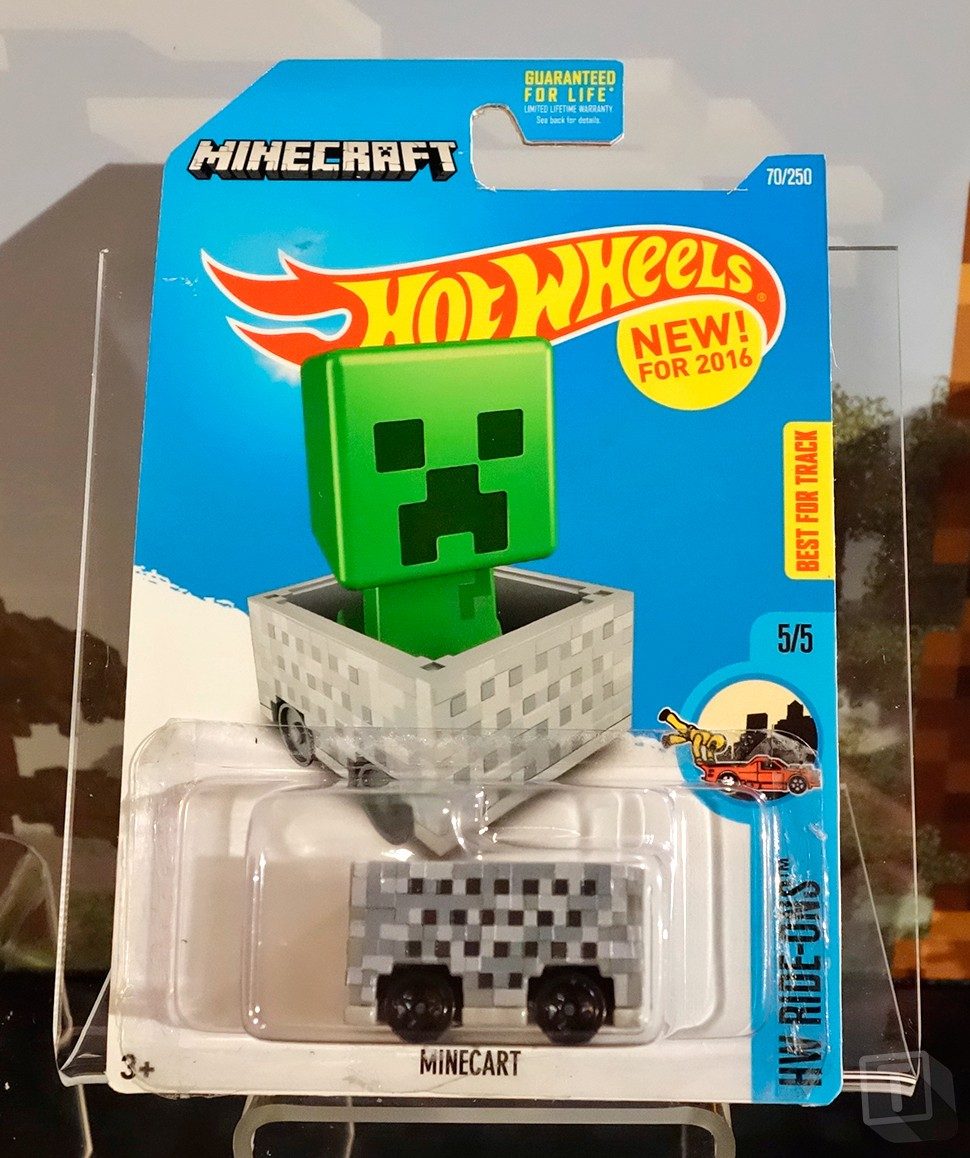 Hot Wheels and Minecraft Troll Us a Little with Minecart ...