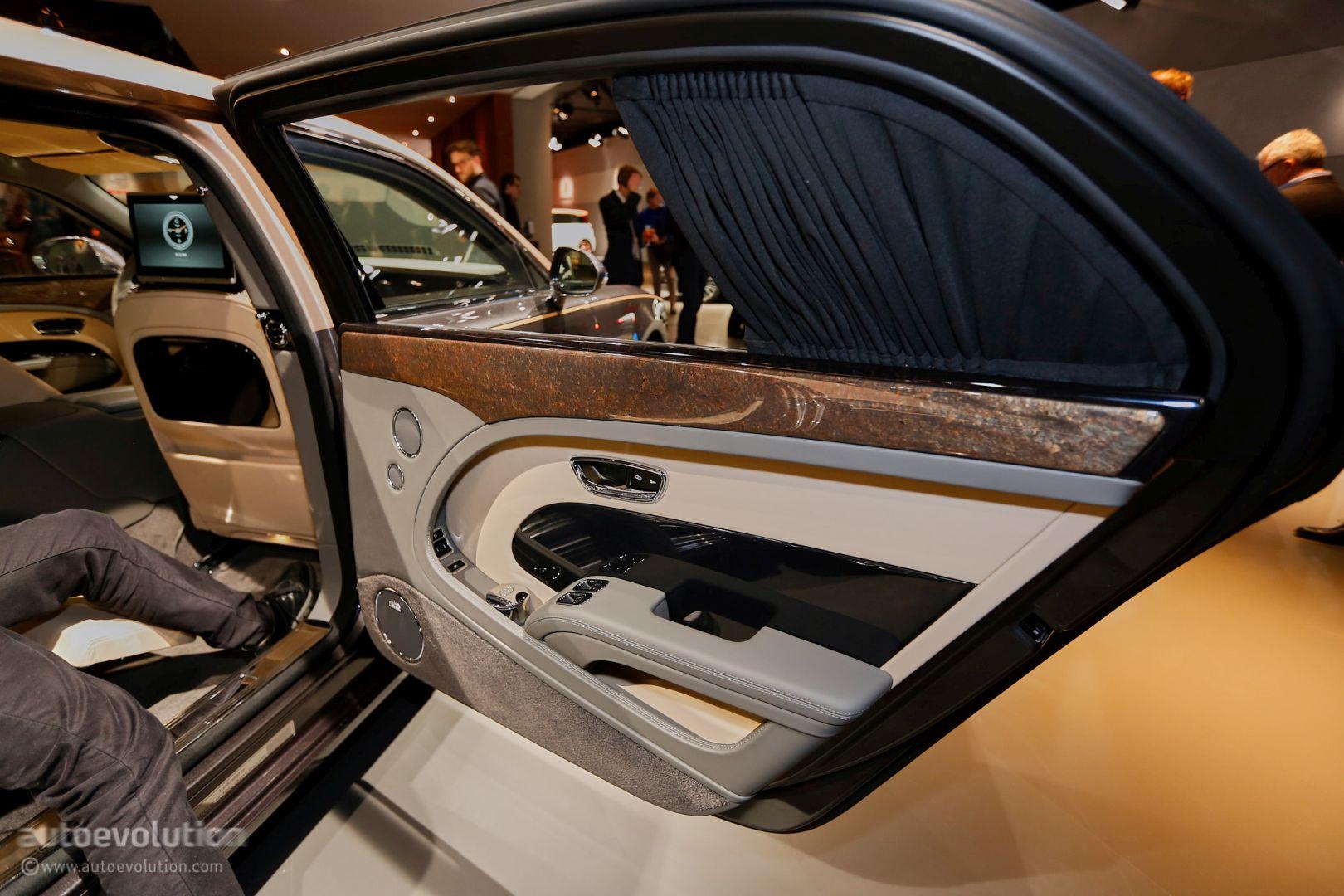 How Bentley Made The Mulsanne Ewb Long Wheelbase Look