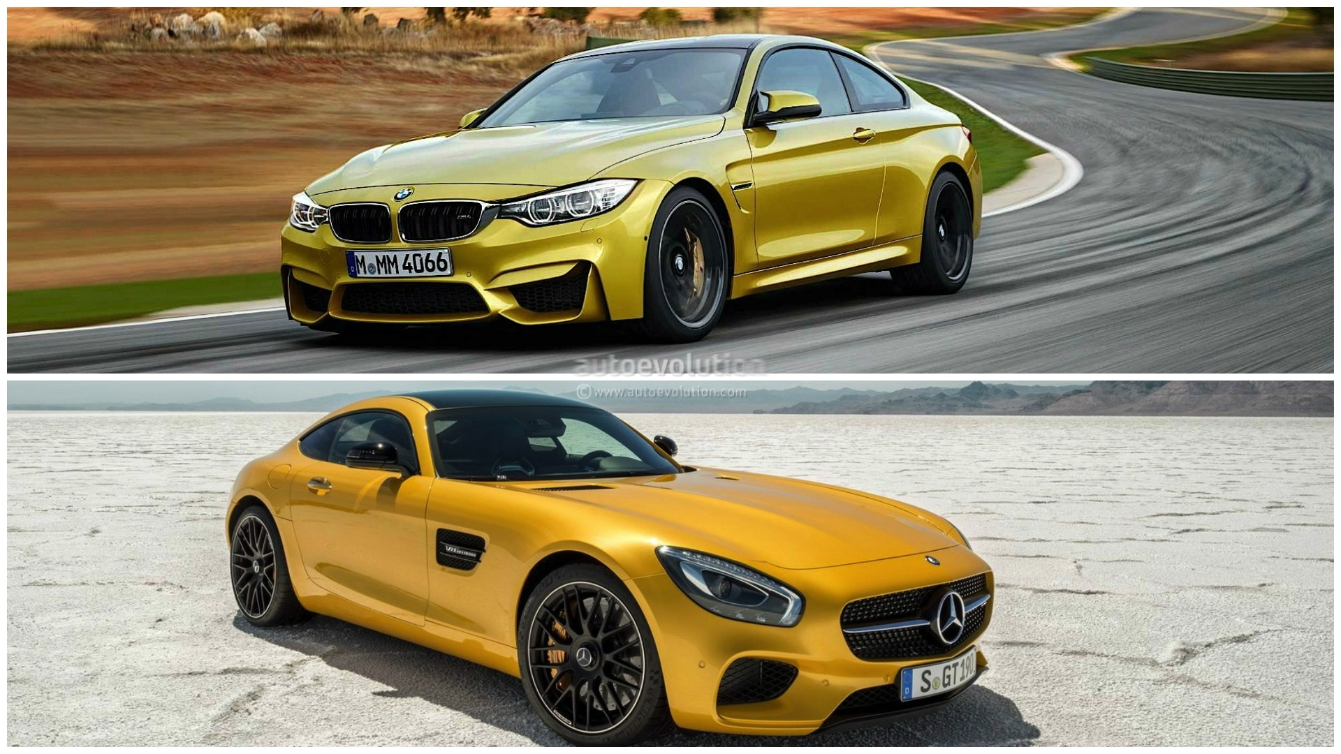 How Does the BMW M4 Stack Up Against the Mercedes AMG GT ...